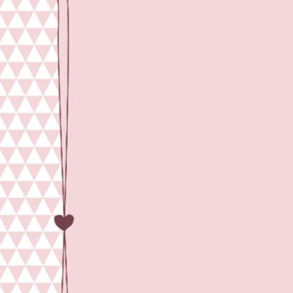 Felicitatie - zwanger driehoek 2