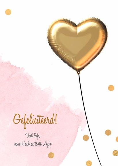 Felicitatiekaart 1 jaar meisje 3