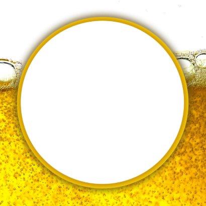 Felicitatiekaart bierflesje met naam 3
