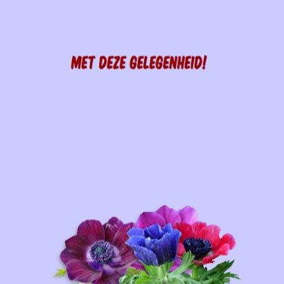 Felicitatiekaart met fleurige anemonen op steigerhout 3
