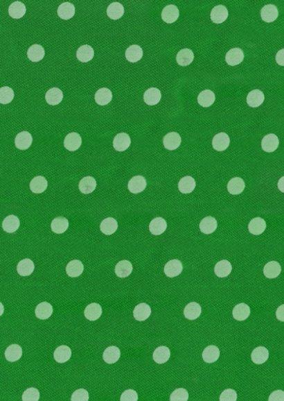 Felicitatiekaart met Pioenrozen op groen met stippen 2