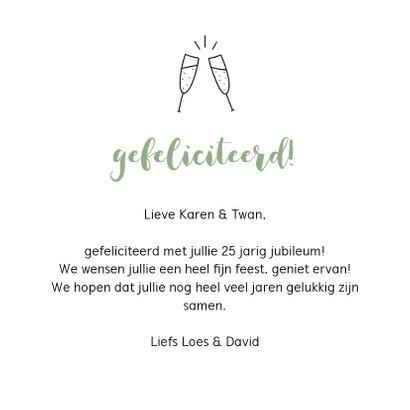 Felicitatiekaart - Mijlpalen  3