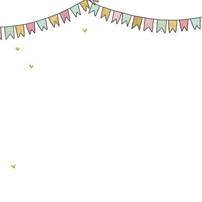 Felicitatiekaart opa met kleinkind met ballonnen 2