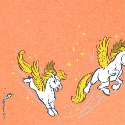 Felicitatiekaart paardje Florian - A 2