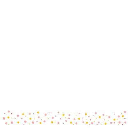 Felicitatiekaart verjaardag roze kat kroon 2