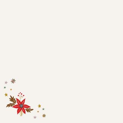 Fijne feestdagen - love christmas - kerstkaart Achterkant