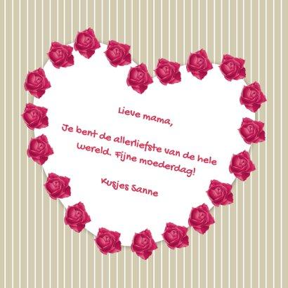 Fijne moederdag rozen - DH 3