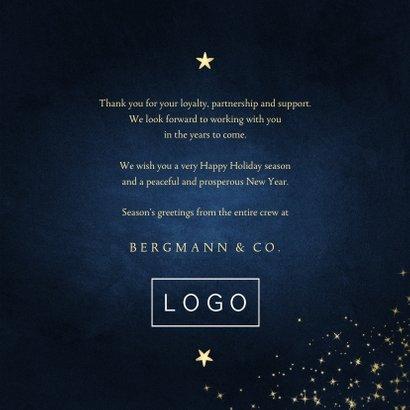 Firmen-Weihnachtskarte 'Happy Holidays' 3
