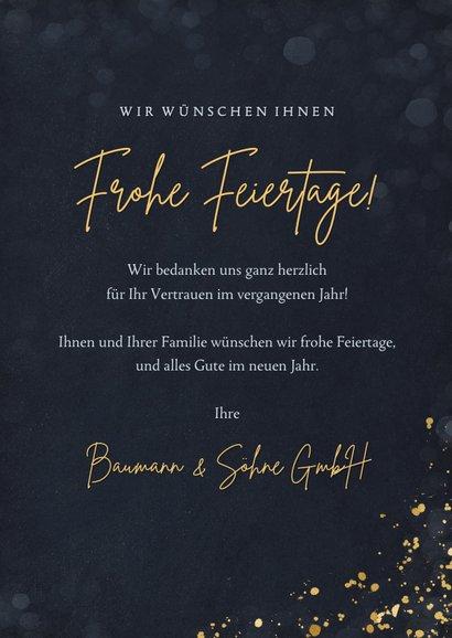 Firmen-Weihnachtskarte Papierbaum 3