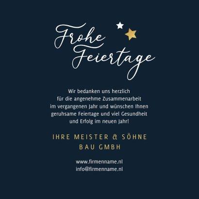 Firmenkarte 'Frohe Feiertage' mit Fotos 3