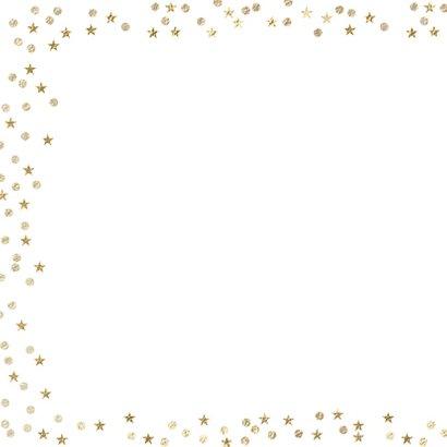 Foto nieuwjaarskaart confetti 2