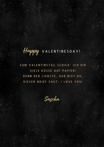 Fotocollage Grußkarte Valentinstag 3
