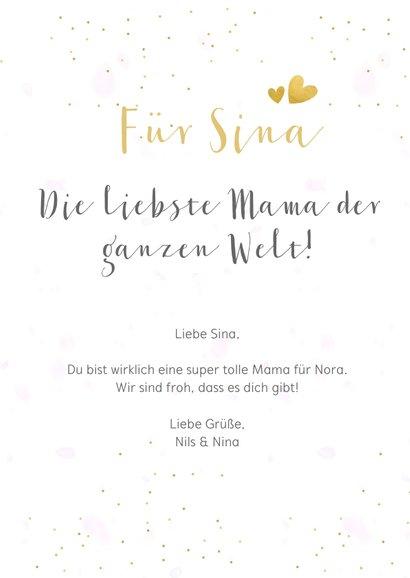 Fotocollage Karte Muttertag 'Liebste Mama!'  3