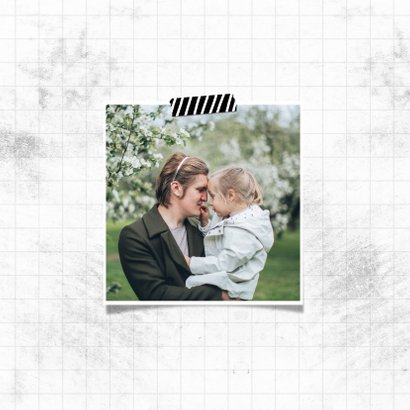 Fotokaart beste bonusvader ever met 2 foto's 2