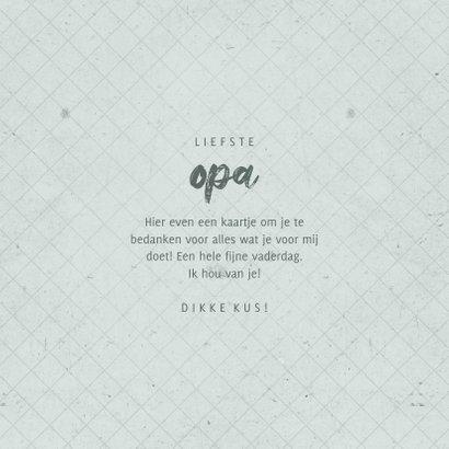 Fotokaart liefste OPA met foto grafisch 3