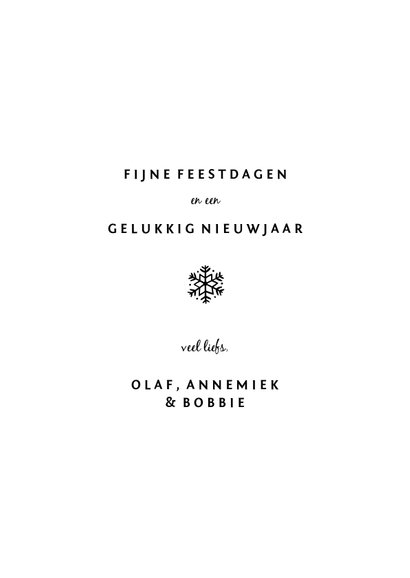Fotokaart met kerstboom fotocollage 3