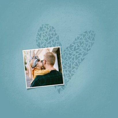 Fotokaart PAPA met hart en naam 2
