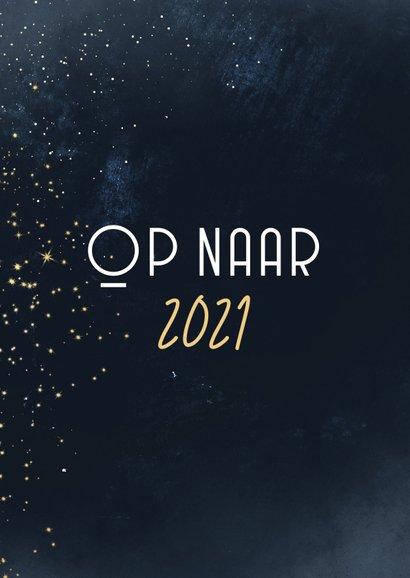 Fotokaart terugblik op 2020 fotocollage met goud 2