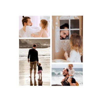 Fotokaart vaderdag voor de liefste papa 2