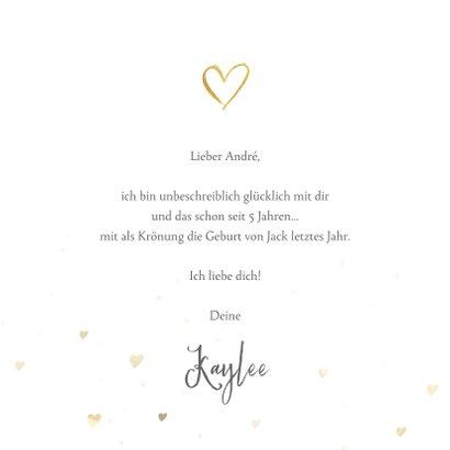 Fotokarte 'Liebe' mit Fotocollage und Herz 3