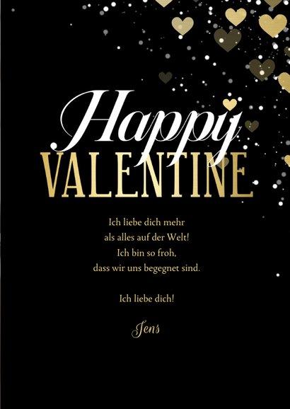 Fotokarte Valentinstag Happy Valentine 3