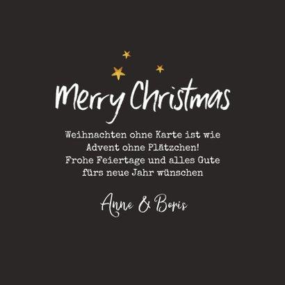Fotokarte Weihnachten Handschrift-Hintergrund 3