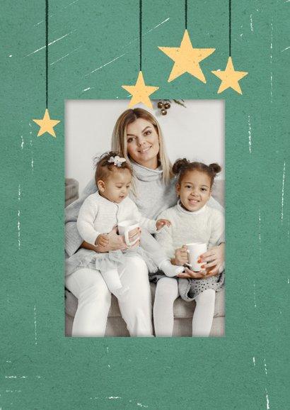 Fotoweihnachtskarte mit Fenster 2