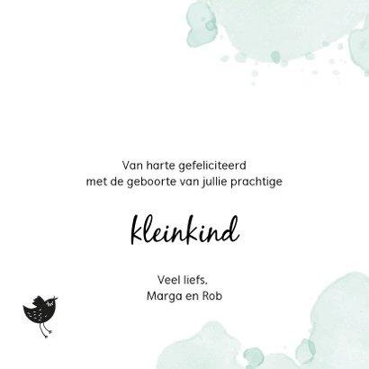 Fryske felicitatiekaart Pake en Beppe 3