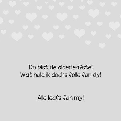 Fryske kaart voor je allerliefste liefde - valentijnskaart 3