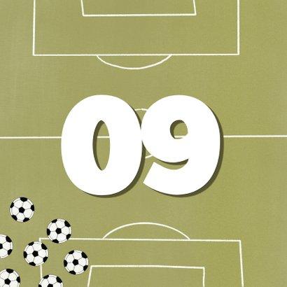 Fußball Geburtstagskarte 2