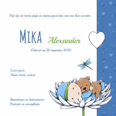 Geboorte baby Mika en beer IH    3