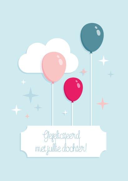 Geboorte Dochter Ballonnen hip 2