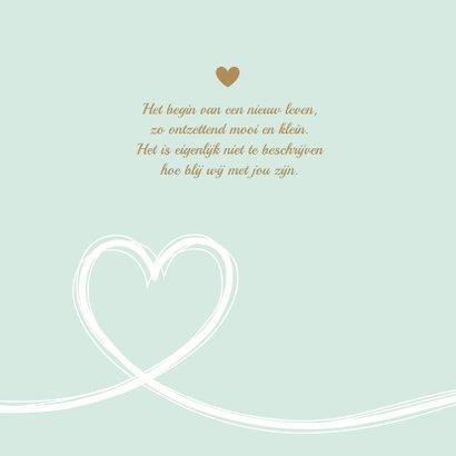 Geboorte - Eenvoudig groot hart, jongen 2