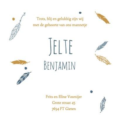 Geboorte foto Jelte - B 3