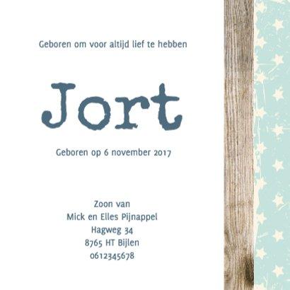 Geboorte foto jort - B 3
