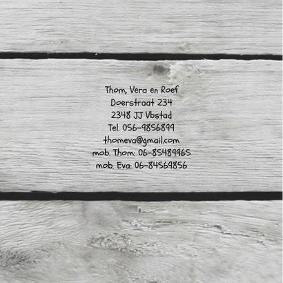 Geboorte hart krijt hout print 2