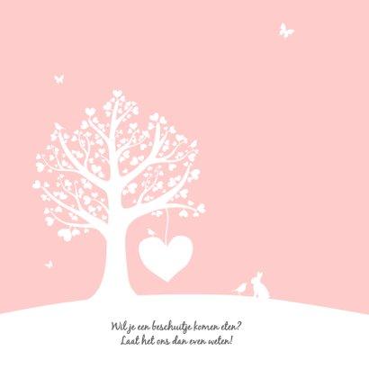 Geboorte - Hartjesboom meisje 2