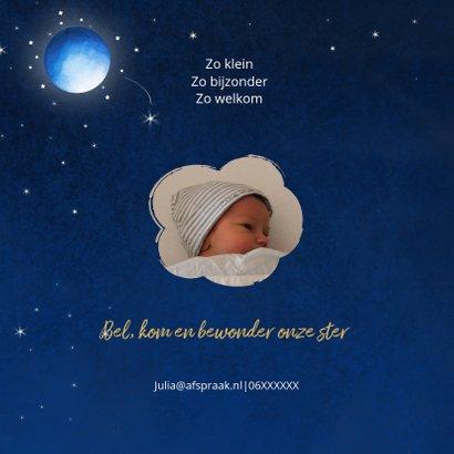 Geboorte jongen volle maan 2