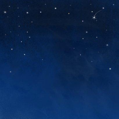Geboorte jongen volle maan Achterkant