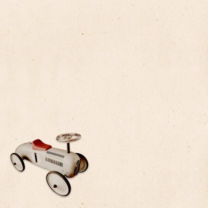 Geboorte loopwagen retro - BK 2