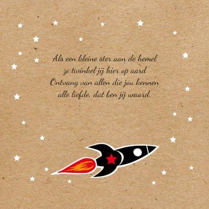 Geboorte Raket  in de ruimte 2