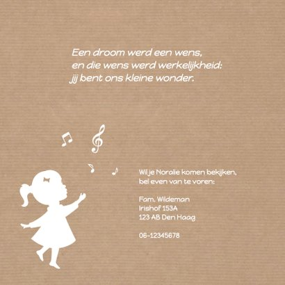 Geboorte Silhouet Muziek Kraft 2