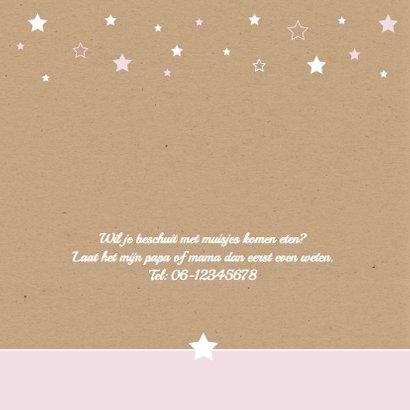 Geboorte-Sterren, karton, meisje 2