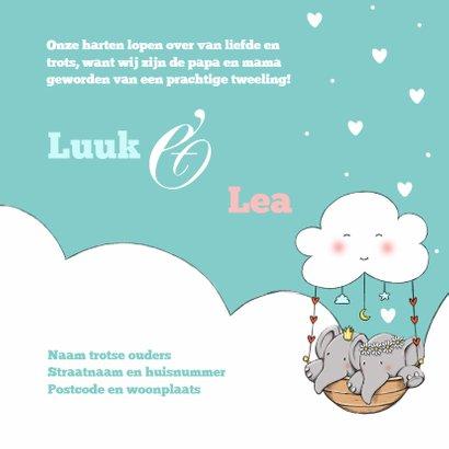 Geboorte tweeling Luuk en Lea IH 3