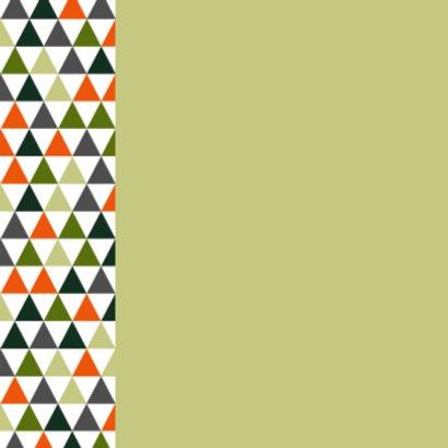 Geboorte - Vrolijke driehoekjes 2