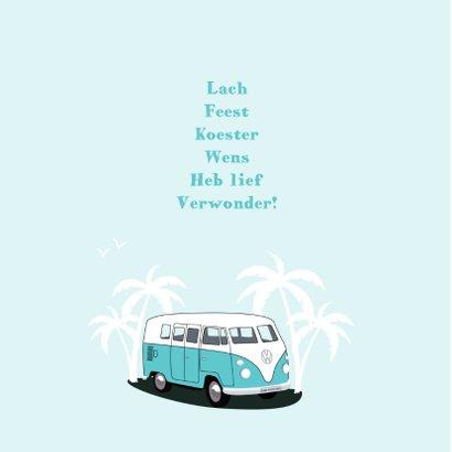 Geboortekaart Volkswagen T1 bus  2