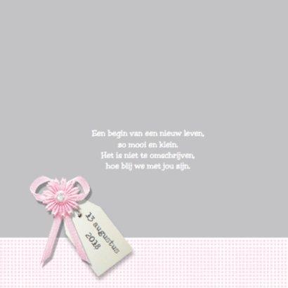 Geboortekaartje Babette - LOVZ 2
