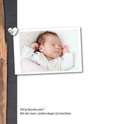 Geboortekaartje-houtkrijt-romée 2