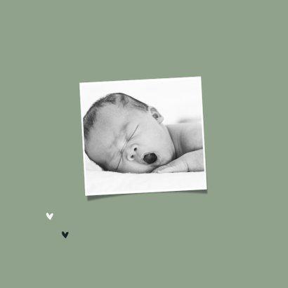 Geboortekaartje jongen dieren groen toekan 2