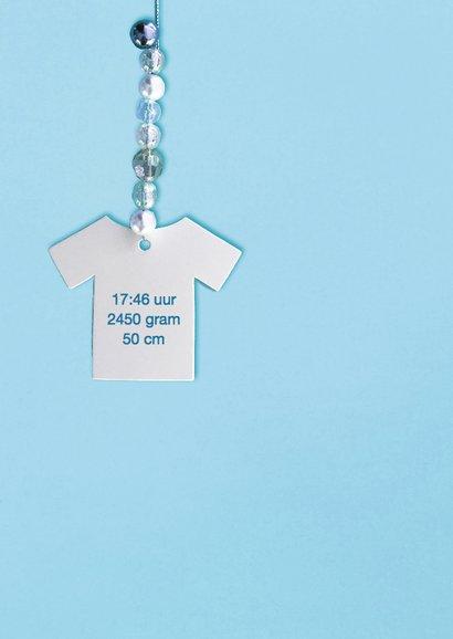geboortekaartje jongen t shirt 2